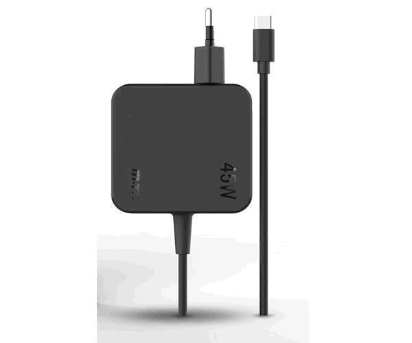 Cargador universal At960 Type-C  3a - 45w -1.5m - Negro - portatiles - smartphones
