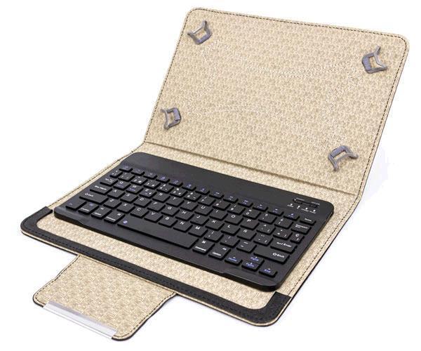 """Funda tablet con teclado Bluetooth Talius 10"""" cv-3007 negra"""