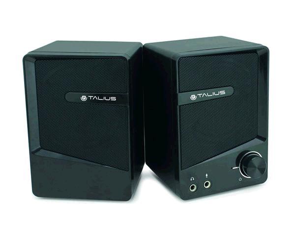 Altavoces 2.0 Talius spk-2001 - USB - 6w - negro