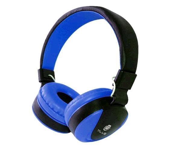 Auriculares Talius tal-Hph-5005 con Microfono Azul Marino