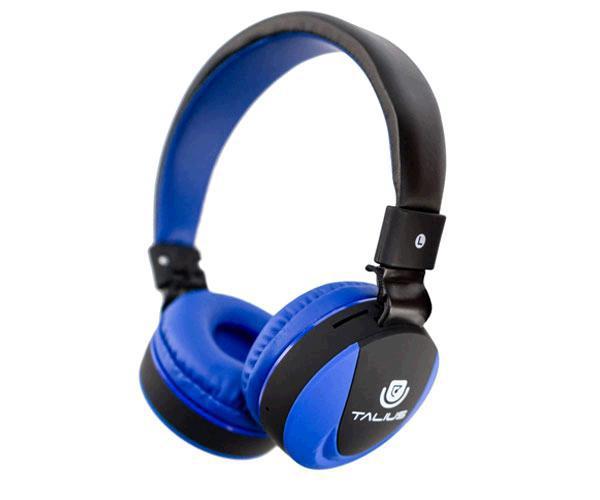 Auriculares Talius Bluetooth tal-Hph-5006bt - FM - Sd - Azul oscuro