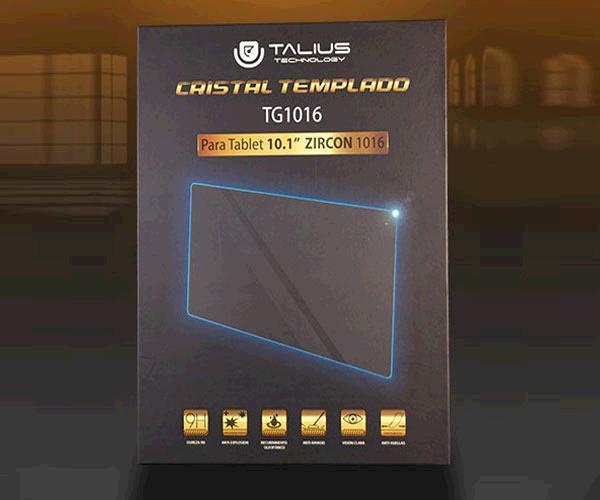Cristal Templado Talius protector Tg1016 - 10.1 Pulg. - Tablet Zircon 1016-4G