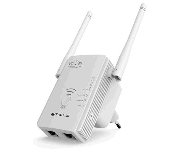 Router - repetidor - ap 300mb Talius - 2 antenas - rep-3002-ant
