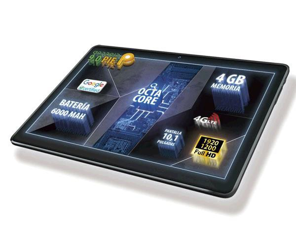 """Tablet Talius 10.1"""" Fhd Zircon 1016 - 4G - Octa-Core A53 2.0Ghz - 4Gb - 64Gb - android 9"""