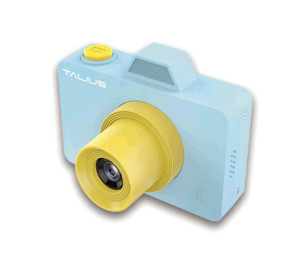Camara Digital Talius Pico Kids Azul - 32gb - Video 720p - 18mp - Camara frontal Selfie - Funda + bolsa transporte