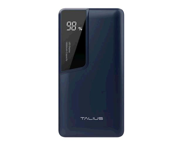 POWERBANK TALIUS 10000 MAH - MICRO USB - TYPE-C - AZUL TAL-PWB4010