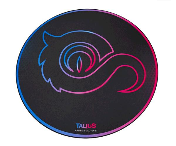 Talius Floorpad 100 Alfombra de Suelo Circular Gaming - Diametro 100cm - Resistente al Agua