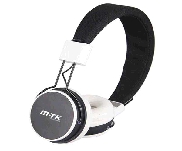 AURICULARES MTK K3559 BLUETOOTH + MICROFONO NEGRO