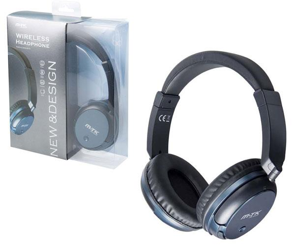 AURICULARES BLUETOOTH MERCURY CT875 NEGRO - FUNCION RELLAMADA
