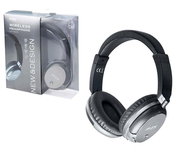 Auriculares Bluetooth mercury ct875 plata - funcion rellamada