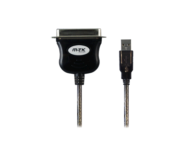 CABLE ADAPTADOR DE USB A PARALELO CENTRONICS MTK 1.5M  CN36M