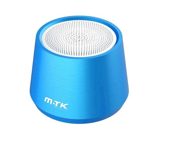 Mini altavoz Metal Bluetooth 5.0 Xatu Ft058- 4w - Mega bass - Tws - Luz Led - Azul - One+