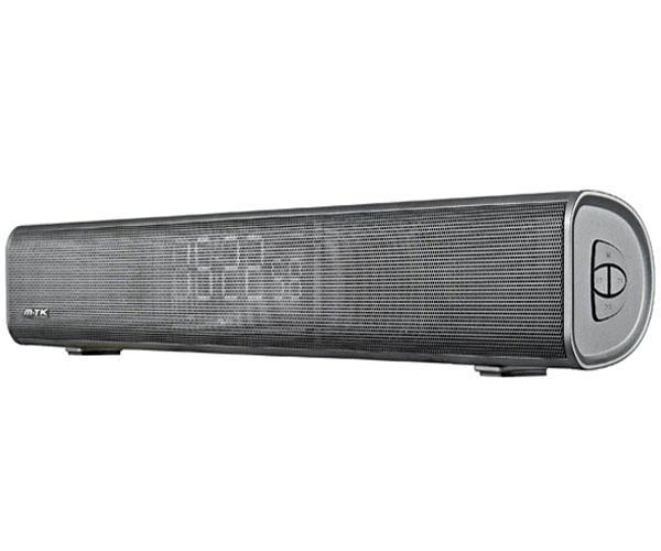 Mini Barra de sonido Bluetooth TF4158 - Pantalla Led - Reloj Digital - 16w - FM - USB - Aux In - MicroSd - Mtk