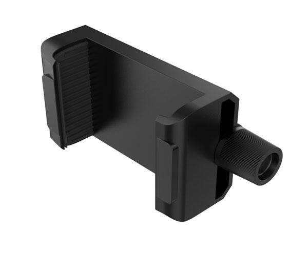Soporte extensible Smartphones para tripode Et072 - Compatible con 3.5 a 6.3 Pulgadas - Negro - Mtk
