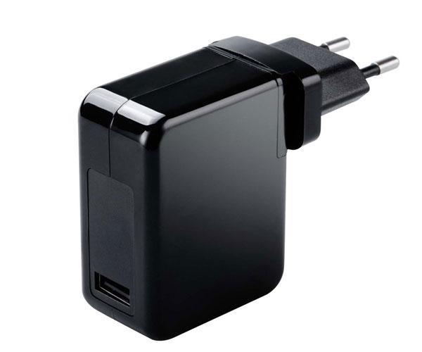 Cargador universal portatil - Smartphones automatico Mt661 - 70w - Usb (Sin cables) - Negro
