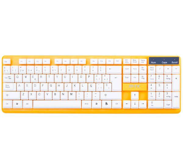 Teclado USB gt946 naranja MTK && INFORMATICA