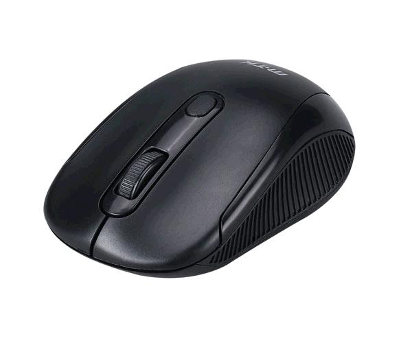 Raton inalámbrico gt641 krack 2.4Ghz - 1600 dpi - Negro - MTK
