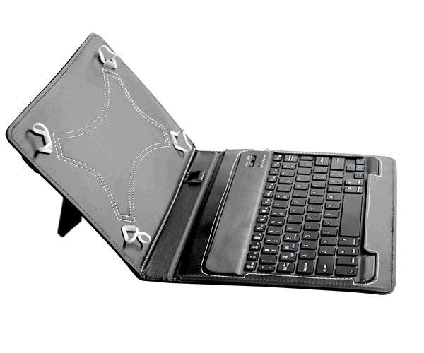 Funda tablet con teclado inalambrico Gt805 - 10 pulgadas - universal - Negra