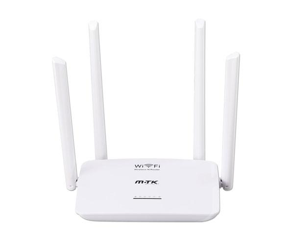 Router Wifi inalambrico Rt635 - Wireless-N - 300mbps - 4 puertos - 1 Wan - 4 antenas - Blanco