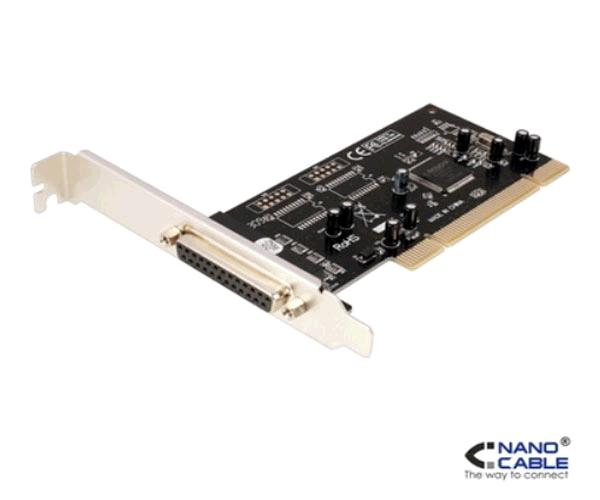 Tarjeta PCI Paralelo DB25 - 1 puerto - Nanocable 10.28.0001