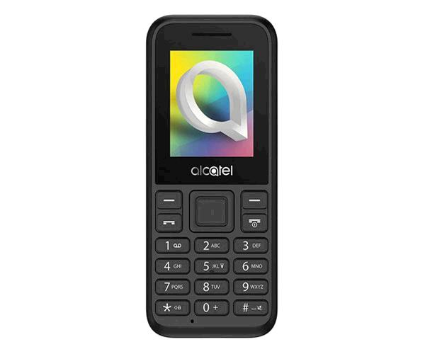 Telefono Movil Alcatel 1066D Negro 1.8 pulgadas