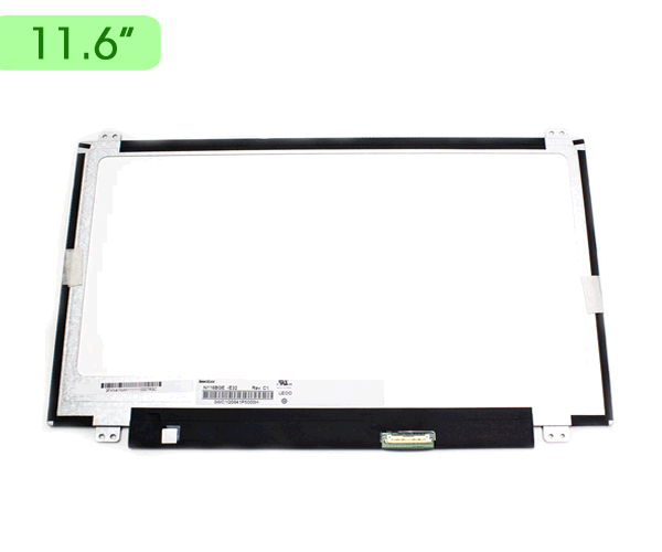 Pantalla portatil 11.6 LED Slim edp 30 pin b.superior e inferior
