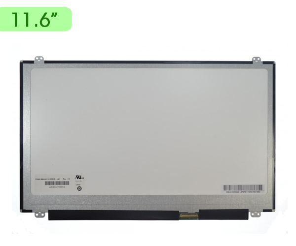 Pantalla portatil 11.6 Slim LED 40 pin bracket sup.