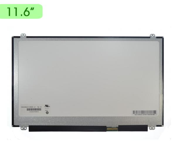 Pantalla portatil 11.6 Slim LED 40 pin bracket sup.