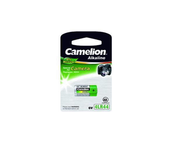 Pila boton Alcalina 4LR44 Camelion - 6v - 0% Mercurio