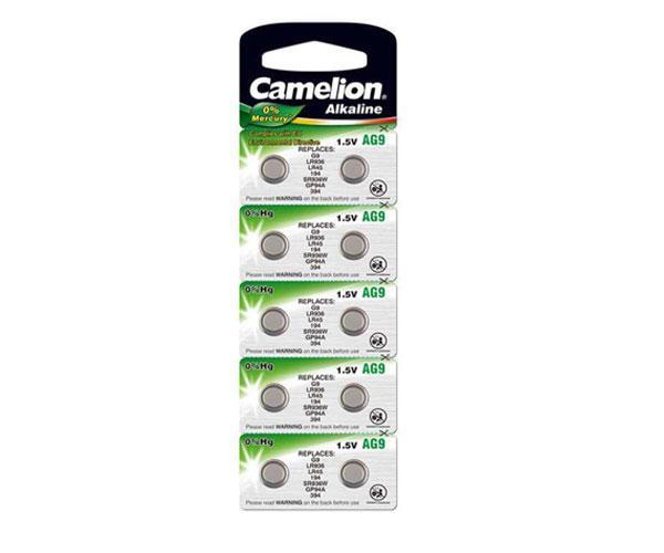 Pila boton Alcalina Lr45 1.5v Camelion (10 uds)  0% Mercurio - Ag9