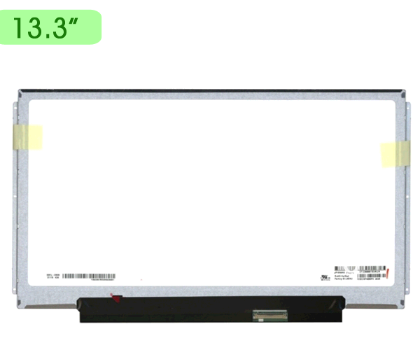 PANTALLA PORTATIL 13.3 SLIM LED BRACKETS ALARGADO 40 PINES