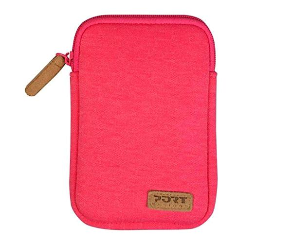 Funda HDD - SSD 2.5 port designs Torino neopreno - Rosa