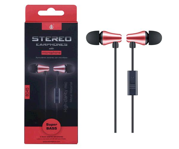 Auriculares magneticos con Micro intrauditivos Nc3145 The Shy - Boton control - 1.2m - Plata - One+