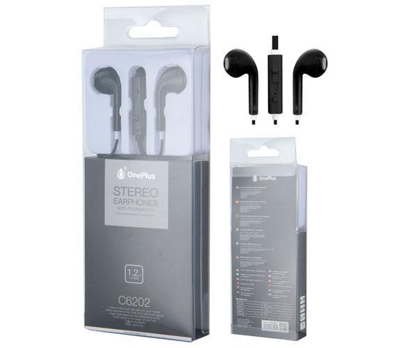 Auriculares con Microfono c6202 air negro ONE+