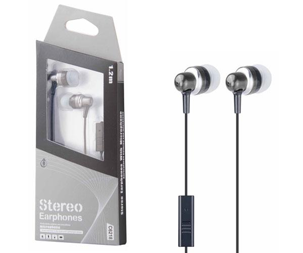 Auriculares con Microfono fever c6218 gris ONE+