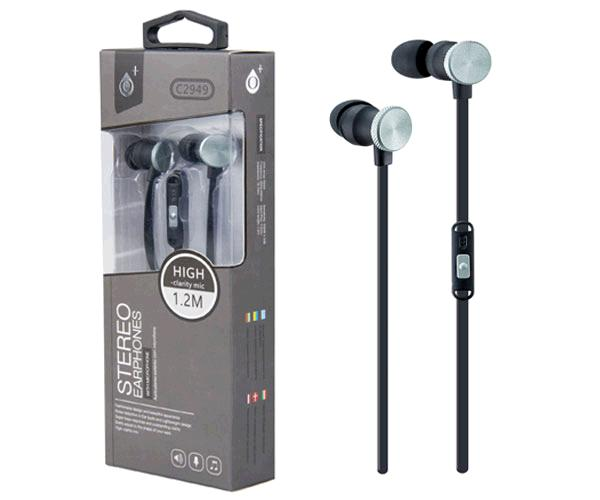 Auriculares + Microfono Intrauditivos machine c2949 gris ONE+