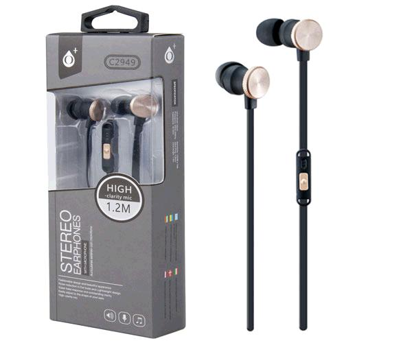 AURICULARES + MICRO MACHINE C2949 ORO ONE+