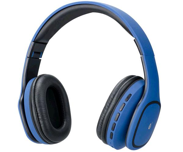 AURICULARES BLUETOOTH + MICRO MP3 TRIVIA C4354 AZUL ONE+