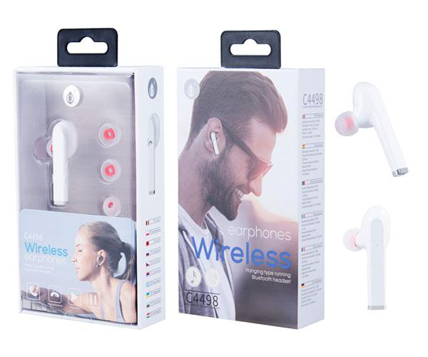 AURICULAR BLUETOOTH NIX C4498 - BLANCO - RELLAMADA - ONE+