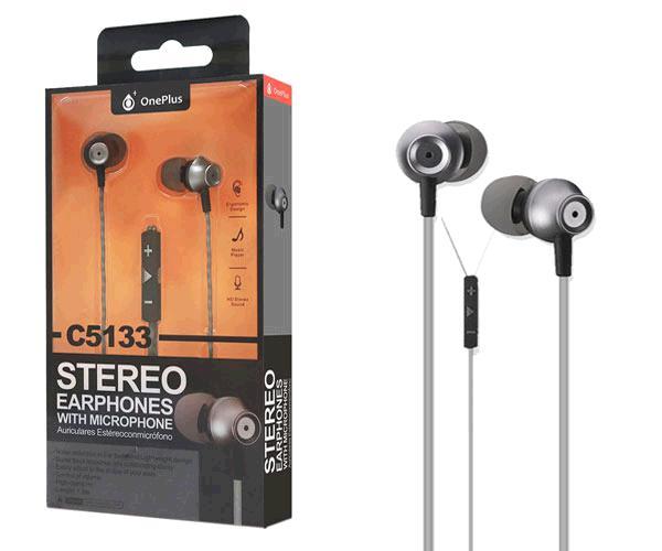 Auriculares + Microfono Edoor C5133 Gris ONE+