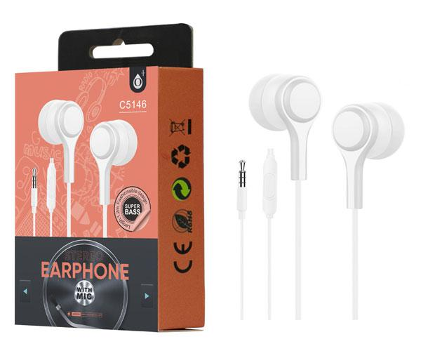 Auriculares + Microfono Intrauditivos lenoy c5146 blanco ONE+