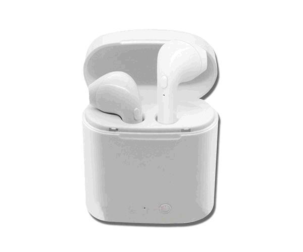 Auriculares estereo Bluetooth c5304 - tws - blancos - con base de carga - ONE+