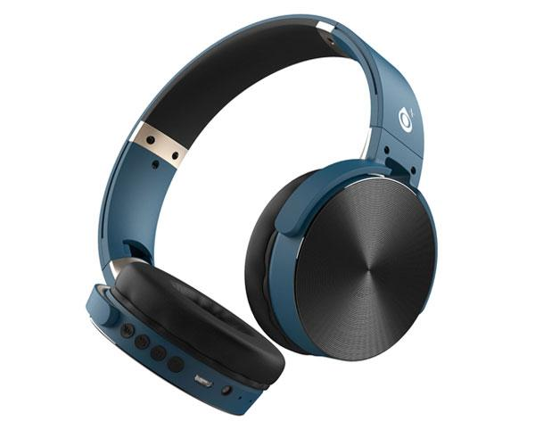 Auriculares Bluetooth Lepux C5996 mp3 - MicroSD - FM - Azul - One+