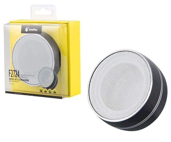 Altavoz Mini Bluetooth f2724 mirror FM - MicroSD - aux - negro