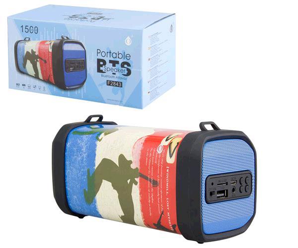 Altavoz Mini Bluetooth f2843 drummer deer USB - FM - MicroSD - aux -