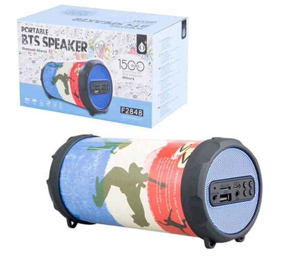Altavoz Mini Bluetooth f2848 fun deer USB - FM - MicroSD - aux -