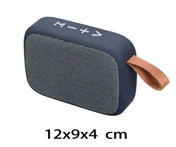 ALTAVOZ MIKOKI F4276  BLUETOOTH - FM - USB - MSD- TWS  GRIS