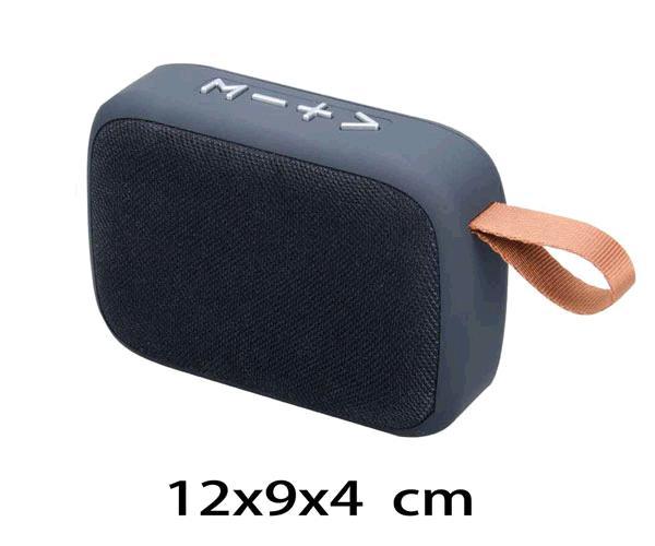 ALTAVOZ MIKOKI F4276  BLUETOOTH - FM - USB - MSD- TWS  NEGRO