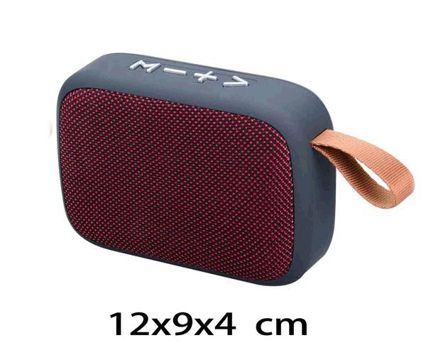 ALTAVOZ MIKOKI F4276  BLUETOOTH - FM - USB - MSD- TWS  ROJO