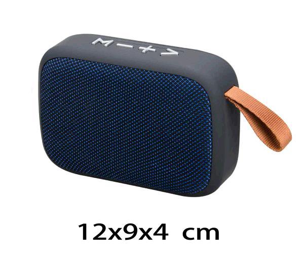 ALTAVOZ MIKOKI F4276  BLUETOOTH - FM - USB - MSD- TWS  AZUL